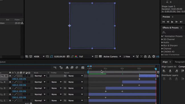 Diseña una Animación de Carga Personalizada en After Effects 13
