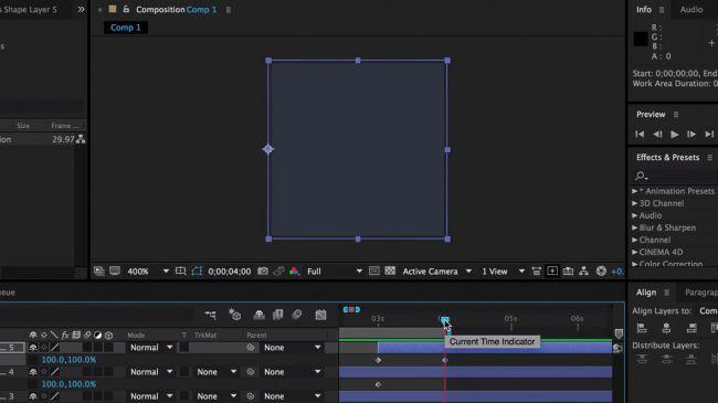 Diseña una Animación de Carga Personalizada en After Effects 14