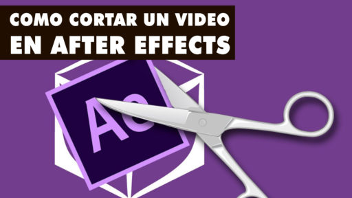 como cortar un video en after effects