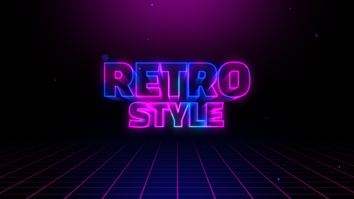 Intro retro after effects