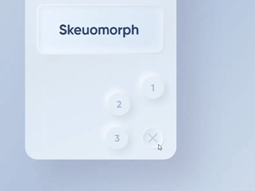 37 Increibles Ejemplos de Neumorfismo y Skeuomorfismo 32