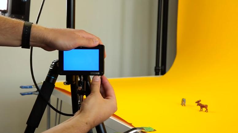 como hacer stop motion - Considera una pantalla externa