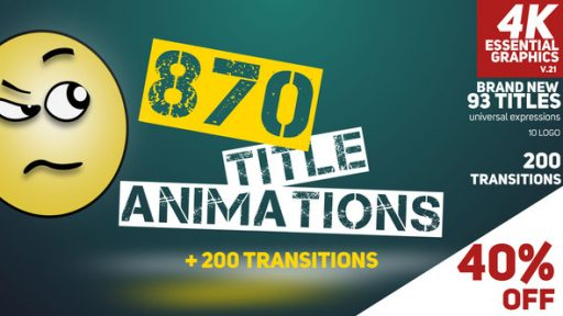 870 Title Animations
