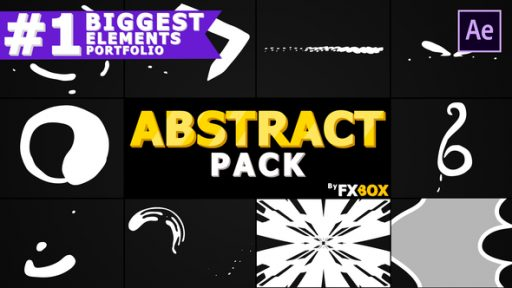 Cartoon Abstract Elements | After Effects