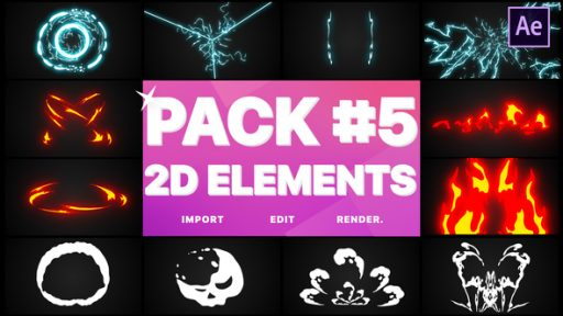 Elements Pack 05 | After Effects