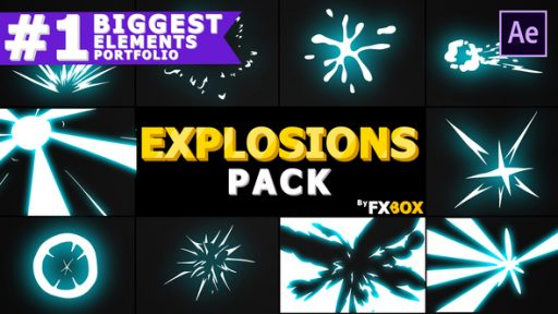 Explosion Elements Pack | After Effects Template