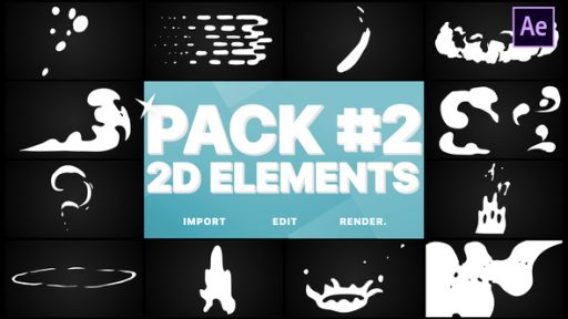 Flash FX Elements Pack 02 | After Effects