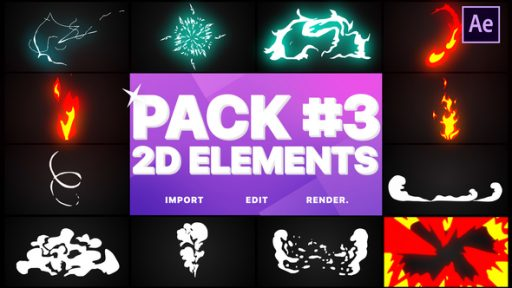 Flash FX Elements Pack 03 | After Effects