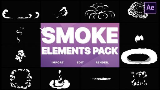 Flash FX Smoke Elements | After Effects