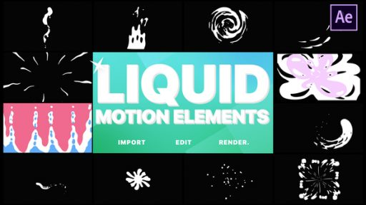 Liquid Motion Elements | After Effects