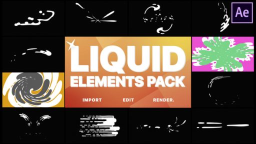 Liquid Motion Elements And Transitions | After Effects