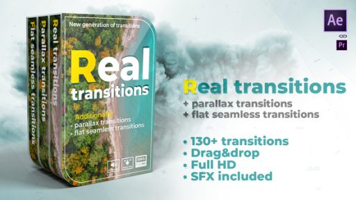 Real transitions