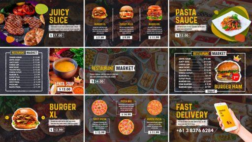 Restaurant Market (Social Media)