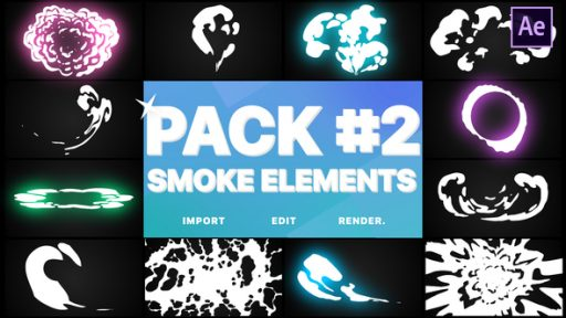 Smoke Elements Pack 02   After Effects