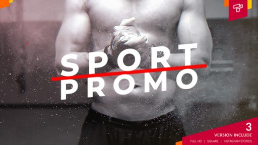 Sport Opener | Dynamic Promo | Action Intro | Workout Event