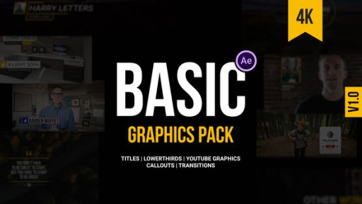 Basic Graphics Pack For Video Creators