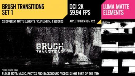 Brush Transitions (2K Set 1)