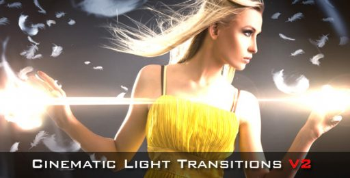 Cinematic Light Transitions V2 - 10 pack