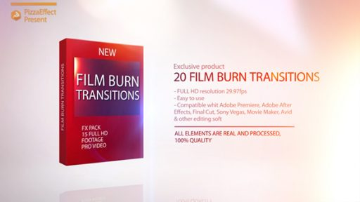Film Burn Transitions
