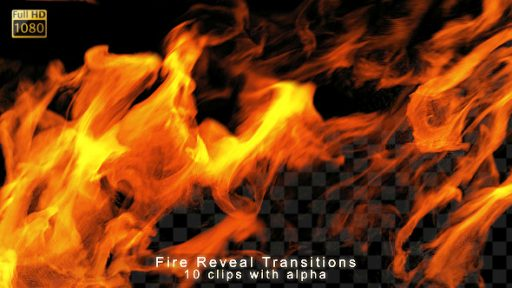 Fire Reveal Transitions
