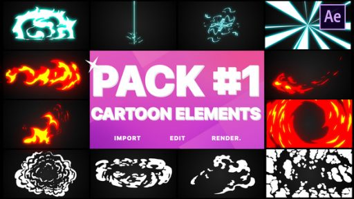 Flash FX Elements Pack 01 | After Effects