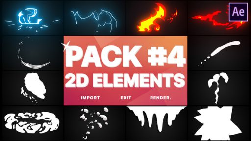 Flash FX Elements Pack 04 | After Effects