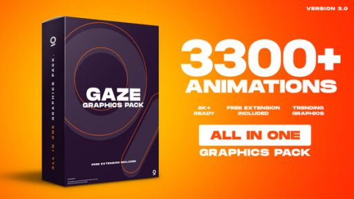 Graphics Pack | 3300+ Animations
