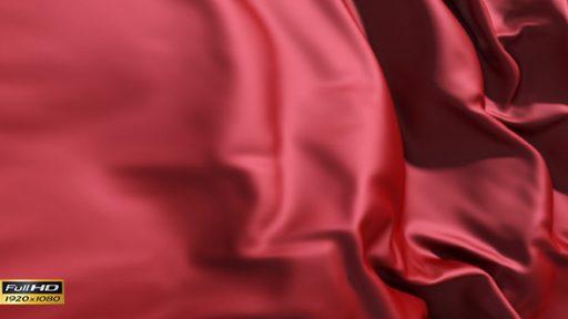 Red Silk Cloth Animation