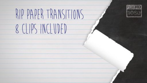Rip Paper Transitions