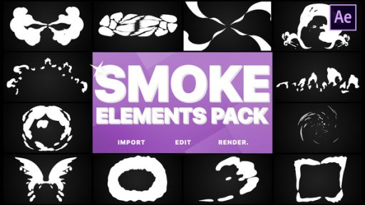 Smoke Elements Pack | After Effects