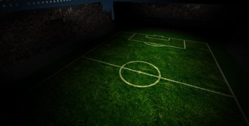 Soccer Field Rotating