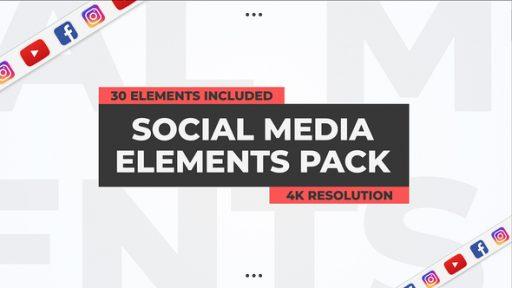 Social Media Elements Pack
