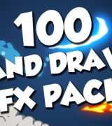 100 Hand Drawn FX Pack