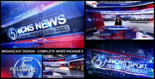 Broadcast Design - Complete News Package 5