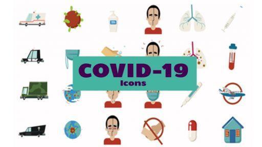 Coronavirus Icons Set
