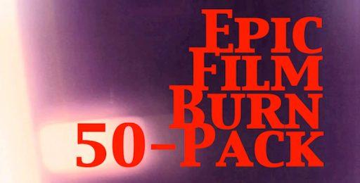 Epic Film Burn 50-Pack