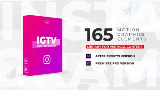 IGTV Graphics Pack | Essential Graphics - MOGRT