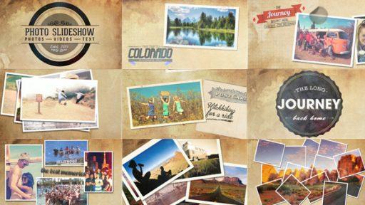Vintage Travel Slideshow