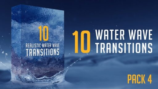 Water Wave Transitions Pack 4