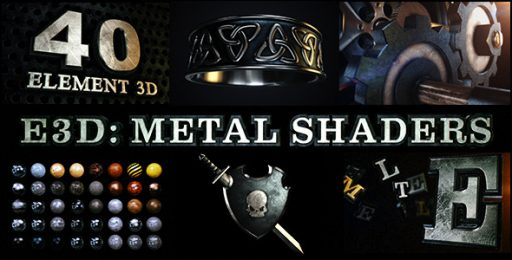 E3D: Metal Shaders for Element 3D