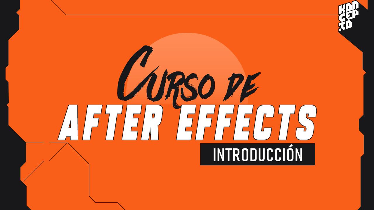 Introduccion al curso de After Effects
