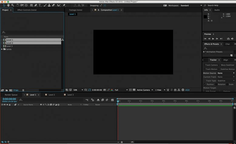 Como Usar After Effects - Proyectos y Composiciones