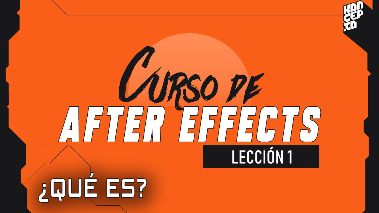 curso de after effects - que es after effects