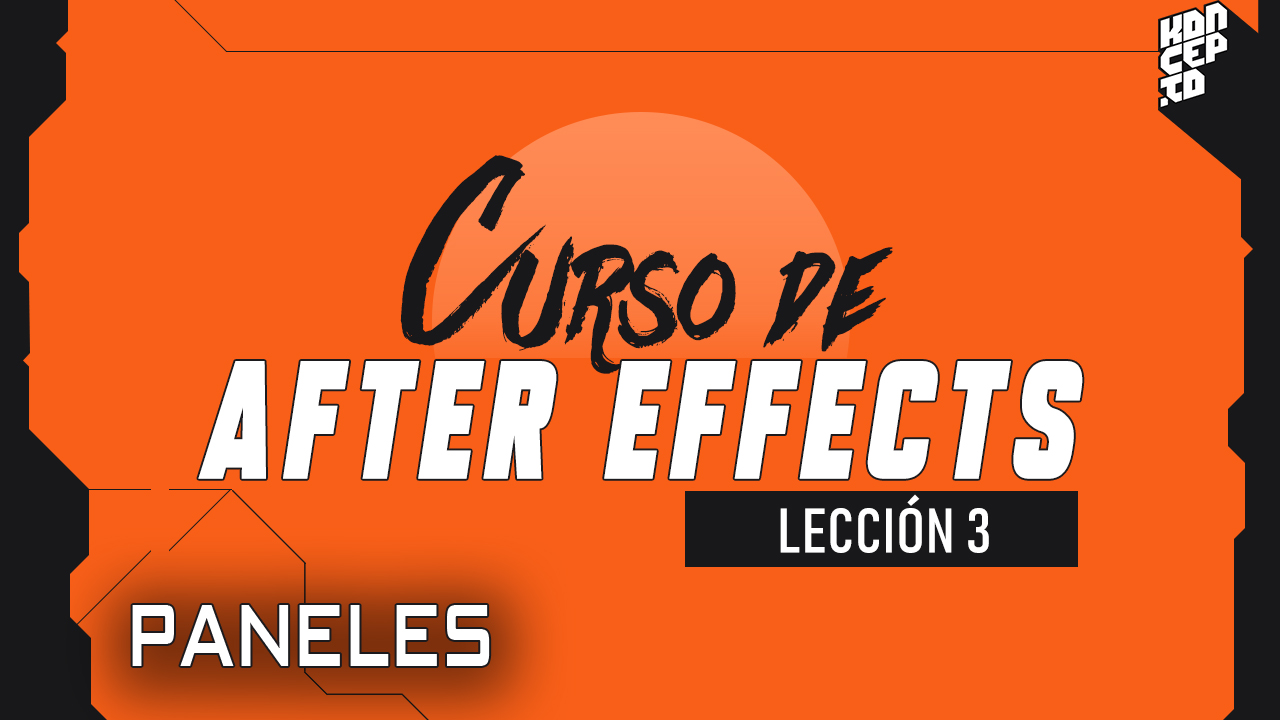 curso de after effects paneles