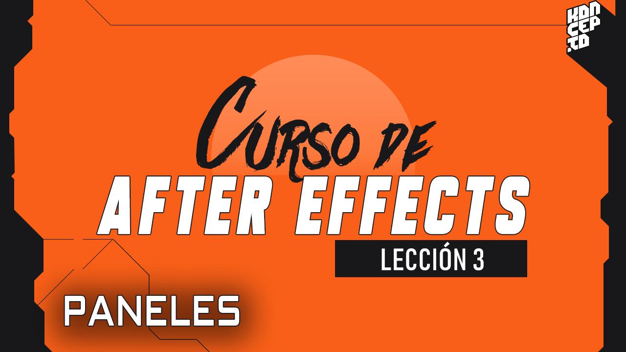 curso de after effects paneles
