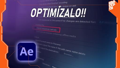 Optimizar after effects