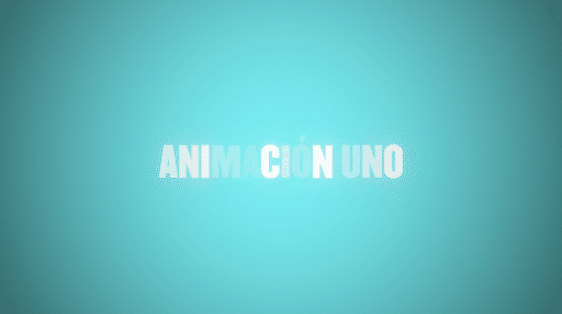 Como animar texto en after effects usando desenfoque de letras